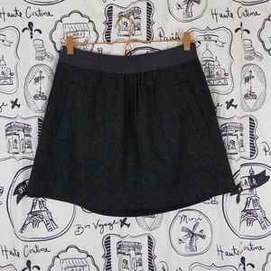 Mini Wool Skirt NWT Pockets J.CREW Factory Size 2